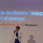 Charissa Seet host IBM Leadership Forum 2014