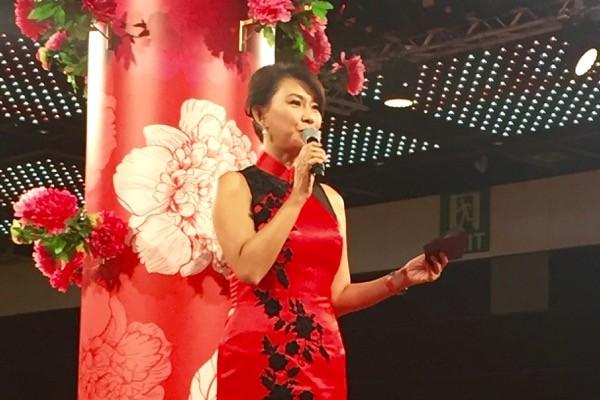 Chermaine Cho hosts DBS Spring Festival 2016