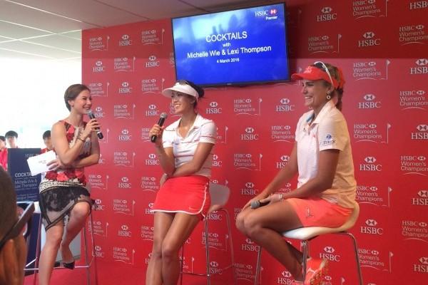 Denise Keller hosts HSBC  Women's Championship
