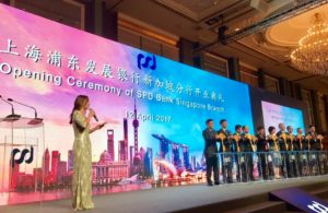 Diana Ser hosts Opening of SPD Bank in Singapore