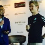 Starwood Preferred Guest Reception with Nico Rosberg