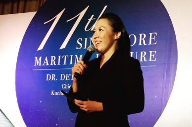 Lavinia Tan hosts 11th Singapore Maritime Lecture