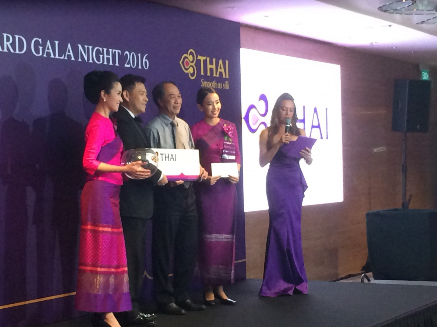 Paula Malai hosts Thai Airways Gala Dinner