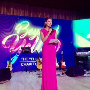 Stephanie Bovis hosts The Yellow Ribbon Charity Gala