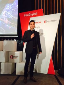 Nicholas Ng hosts iAdvisory Forum 2017: Going Global with Digital Conference