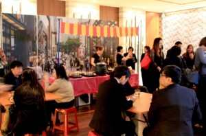 Cocktail Reception - showcasing the varieties of local street cuisines