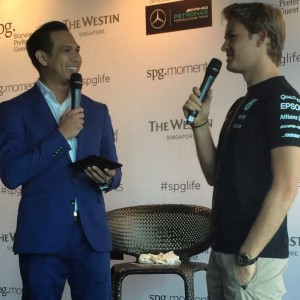 Q & A with Nico Rosberg