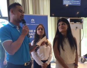 Team Indus : Sheelika Ravishankar and Harshita Gupta