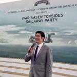 Ivar Aasen Topsides Sailaway