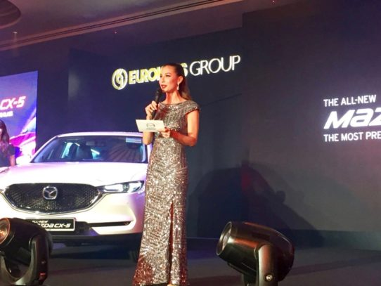 Denise Keller hosts Launch of the All New Mazda CX-5