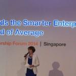 Charissa Seet host IBM Leadership Forum 2014