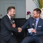 Richard Lenton - Champagne Lunch with David Beckham