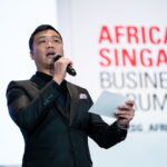 Nicholas Ng Emcee Africa Singapore Business Forum